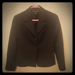 Fitted Black Business Jacket